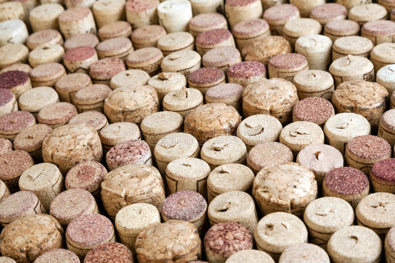 Muitos wine cortiça fotos de stock royalty free