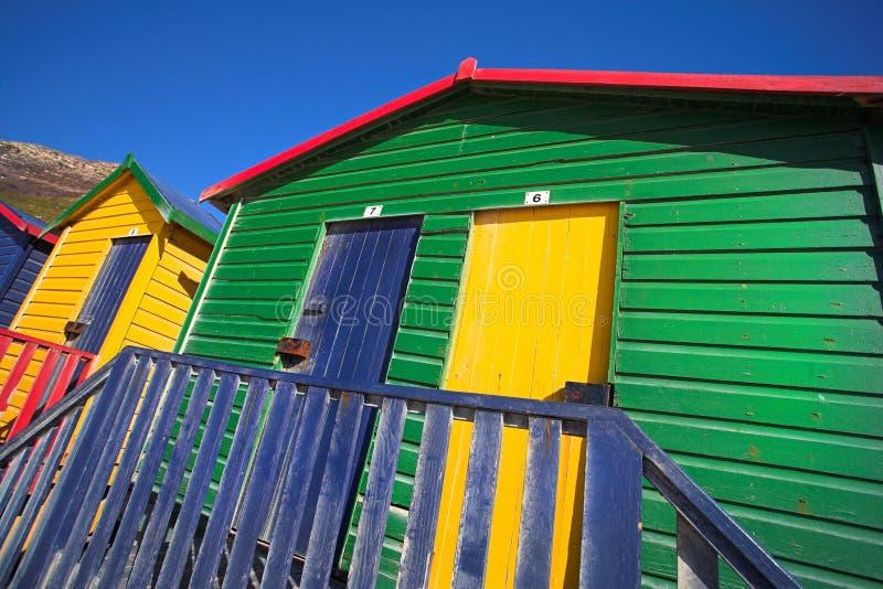 Muizenberg Strand #2 stockbild