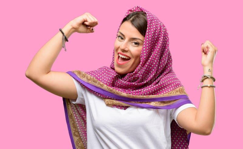 Mujer árabe joven foto de archivo libre de regalías