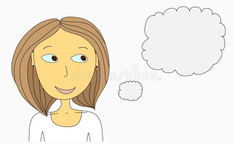 Mujer stock de ilustración