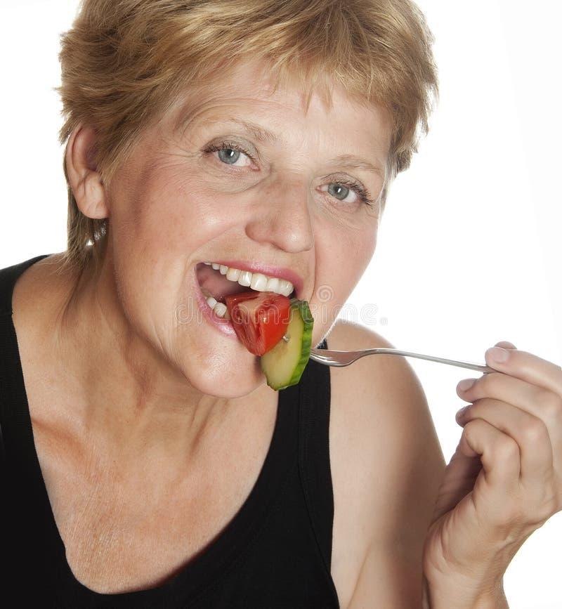 Download Mujer (67 Años) Que Come Vehículos Imagen de archivo - Imagen de fondo, lifestyle: 42436249