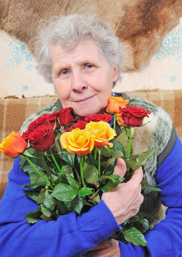 Mujer adulta foto de archivo libre de regalías