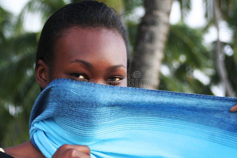Mujer africana foto de archivo libre de regalías