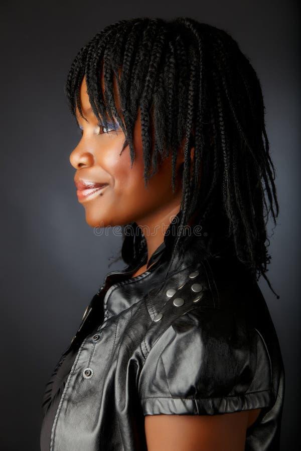 Mujer africana hermosa fotografía de archivo