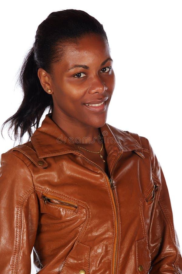 Mujer africana hermosa imagen de archivo libre de regalías