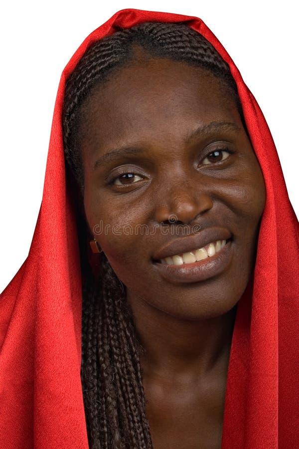 Mujer africana joven imágenes de archivo libres de regalías