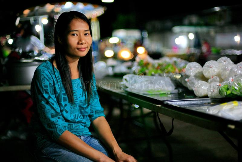 Mujer asiática imagen de archivo