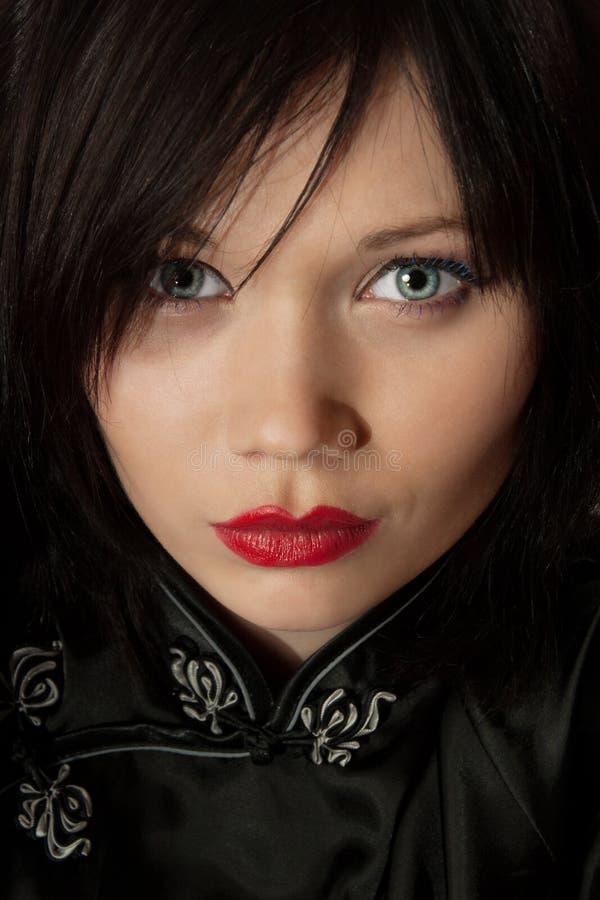 Download Mujer asiática del estilo foto de archivo. Imagen de hembra - 7151128