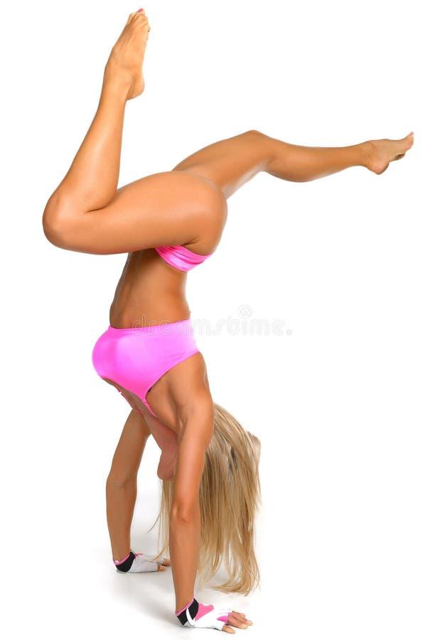 Mujer atlética fotografía de archivo