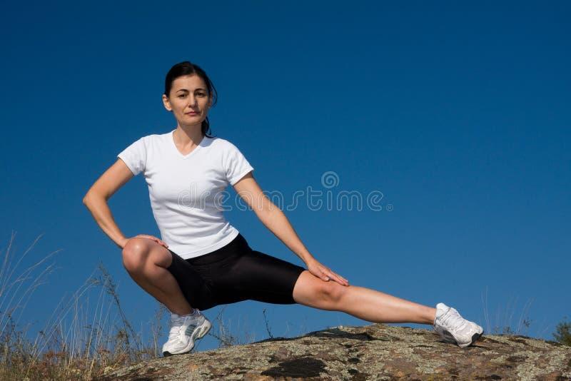 Mujer Atlética Foto de archivo