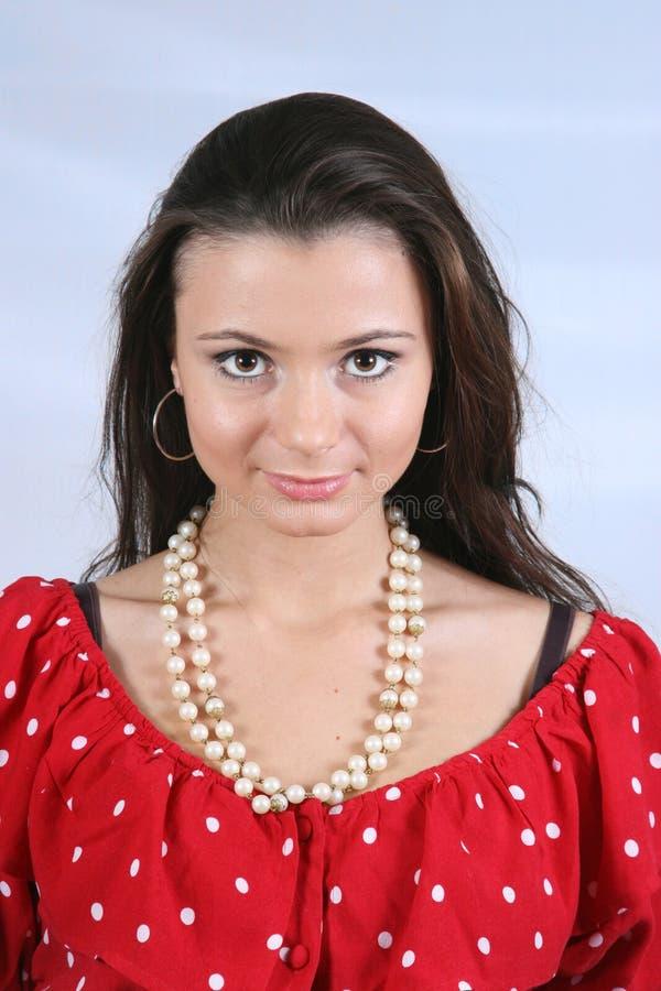 Mujer atractiva imagen de archivo