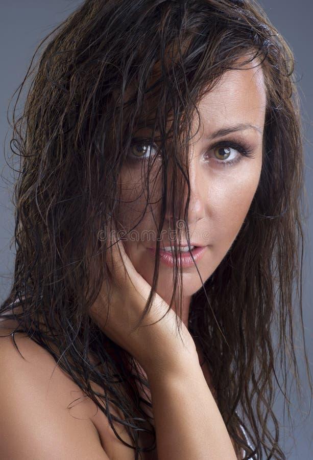 Mujer atractiva fotos de archivo