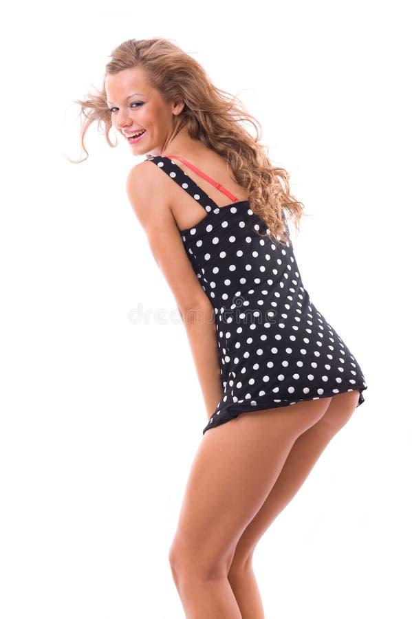 Mujer atractiva. fotos de archivo libres de regalías