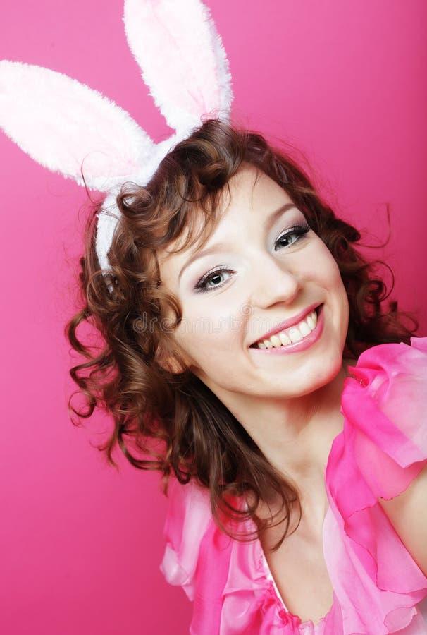 Download Mujer Atractiva Con Bunny Ears Blonde Del Playboy Foto de archivo - Imagen de looking, amor: 42426364