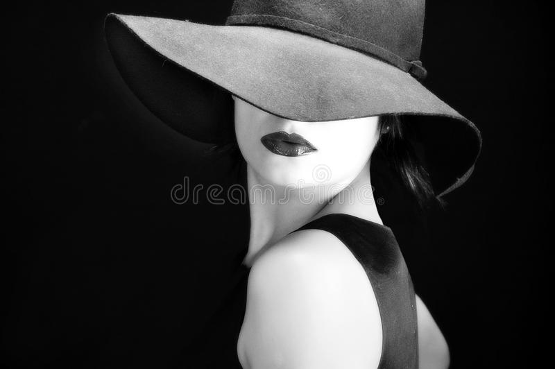 Mujer bonita foto de archivo libre de regalías