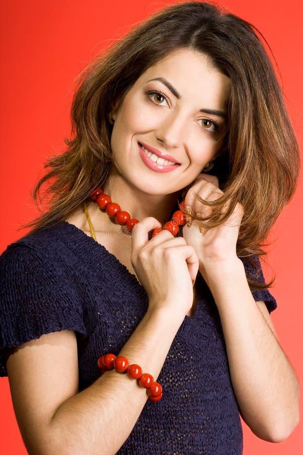 Download Mujer bonita foto de archivo. Imagen de hermoso, ligón - 7151620