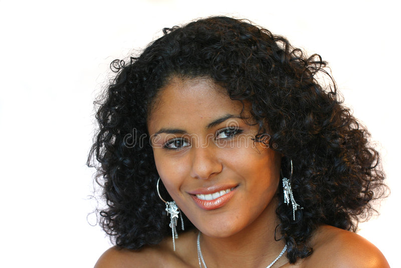 Mujer brasileña hermosa foto de archivo