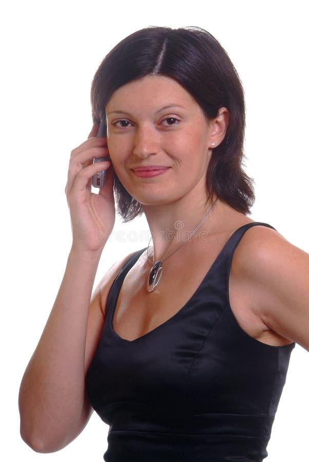 Mujer cómoda fotografía de archivo libre de regalías