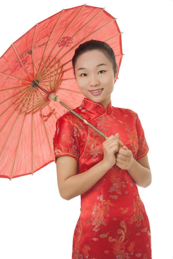 Mujer china fotos de archivo libres de regalías