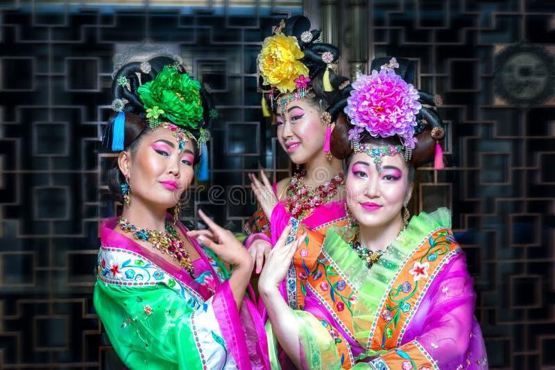 Mujer china foto de archivo
