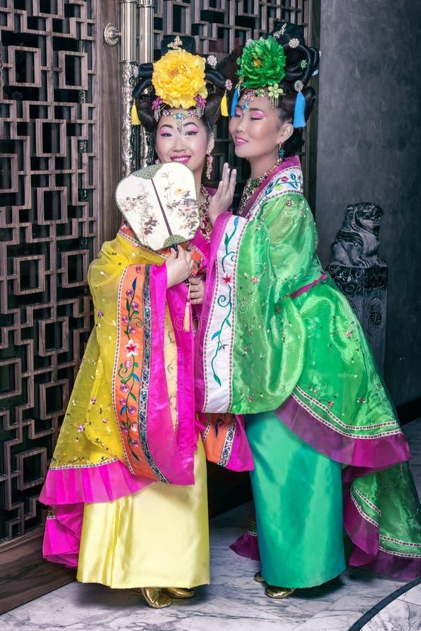 Mujer china imagen de archivo