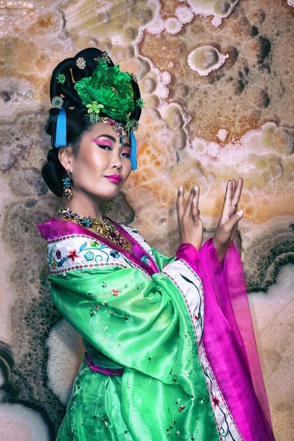 Mujer china fotografía de archivo