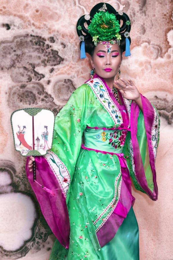 Mujer china fotografía de archivo libre de regalías