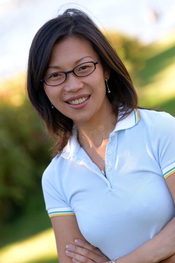 Mujer china no.3 imagen de archivo