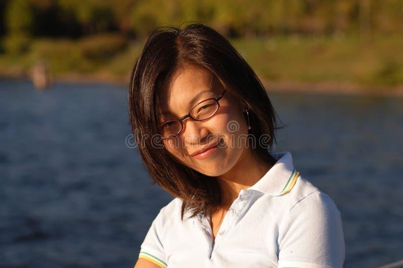 Mujer china no.5 imagenes de archivo