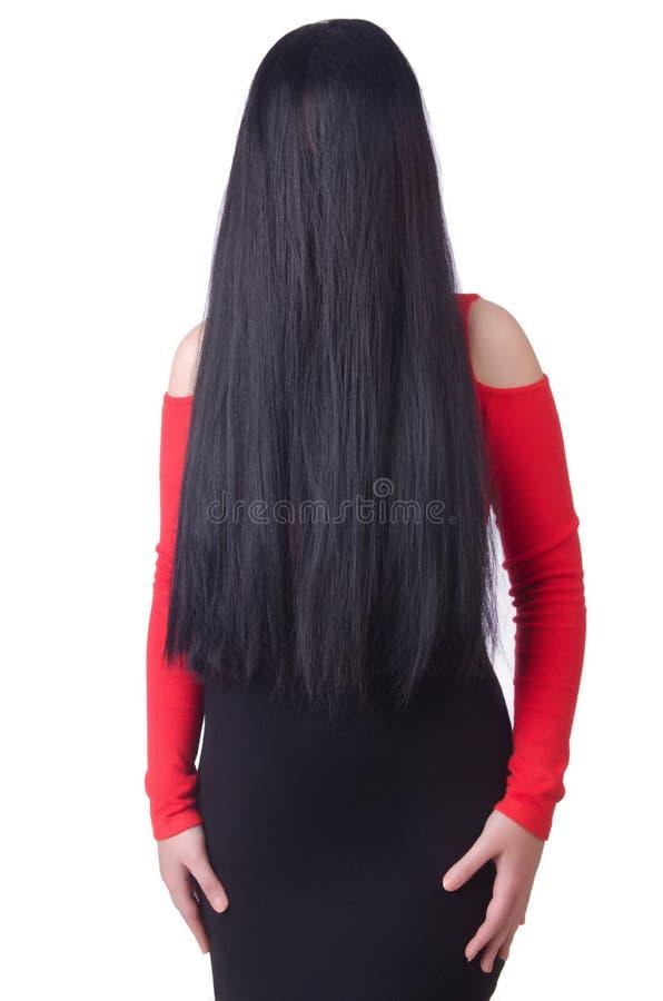 Download Mujer con de largo imagen de archivo. Imagen de hembra - 41914167