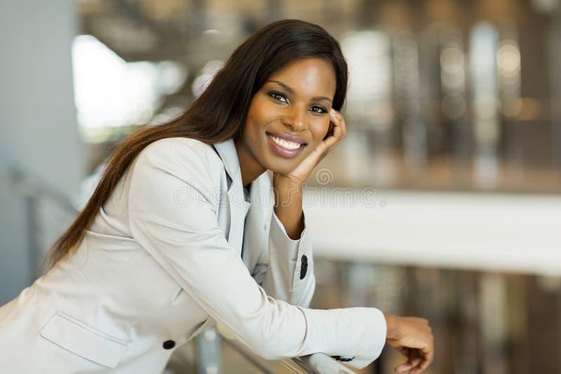Mujer de carrera afroamericana fotos de archivo libres de regalías