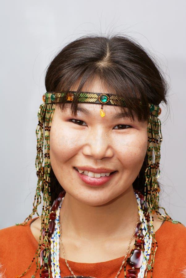 Mujer de Chukchi imágenes de archivo libres de regalías