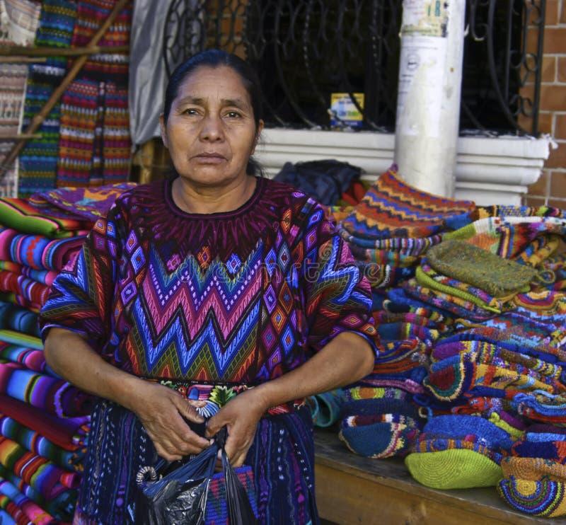 Mujer de Guatemala fotos de archivo libres de regalías
