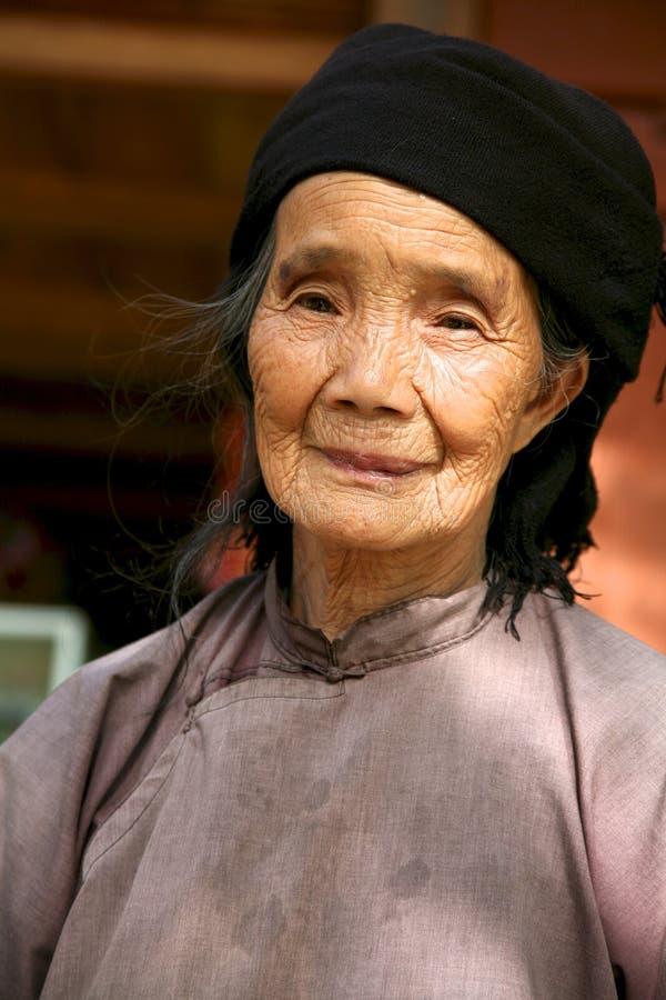 Mujer de H'Mong de Sapa Vietnam imagenes de archivo