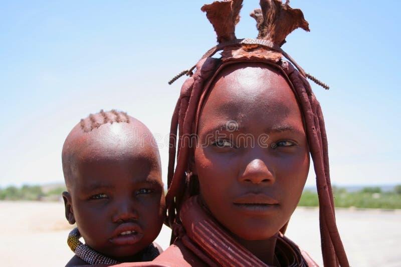Mujer de Himba fotos de archivo