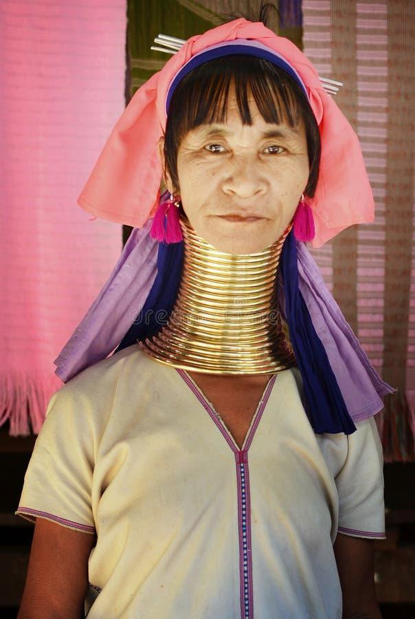 Mujer de Karen fotografía de archivo