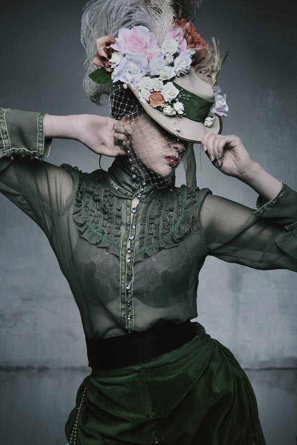 Mujer de la belleza foto de archivo