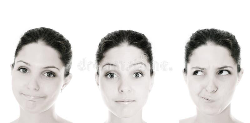 Download Mujer de la emoción imagen de archivo. Imagen de despreocupado - 7281027