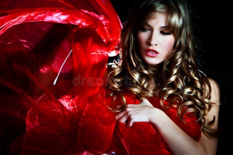 Mujer de la fantasía fotografía de archivo libre de regalías