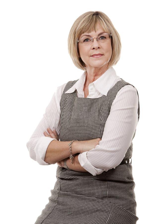Mujer de la oficina fotografía de archivo libre de regalías