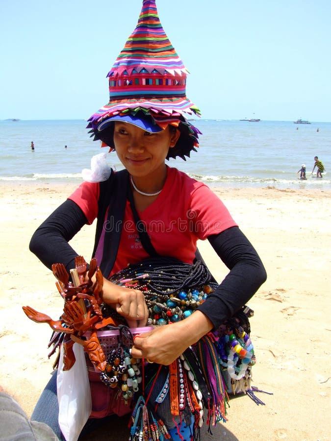 Mujer de la tribu de la colina, Tailandia. imagenes de archivo