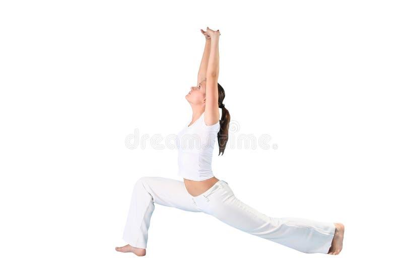 Mujer de la yoga imagen de archivo libre de regalías