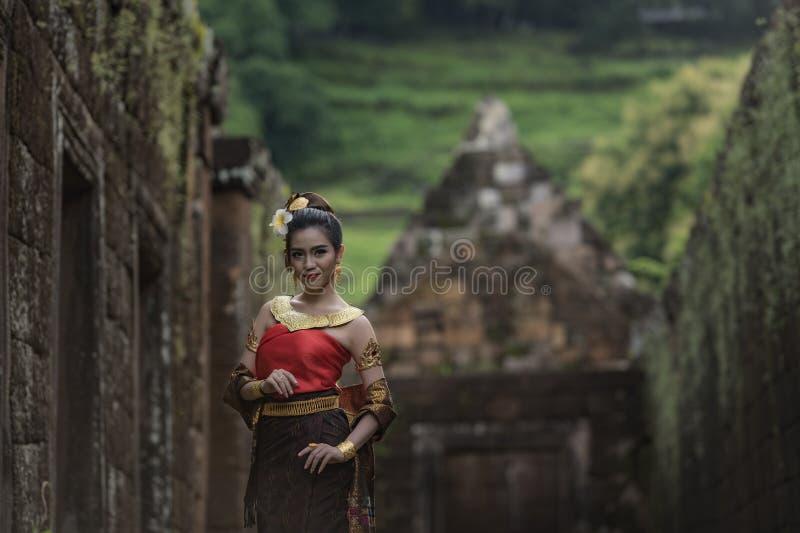 Mujer de Laos imagenes de archivo