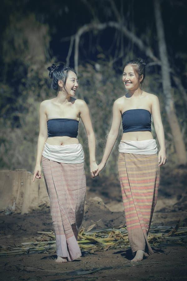 Mujer de Laos fotografía de archivo libre de regalías