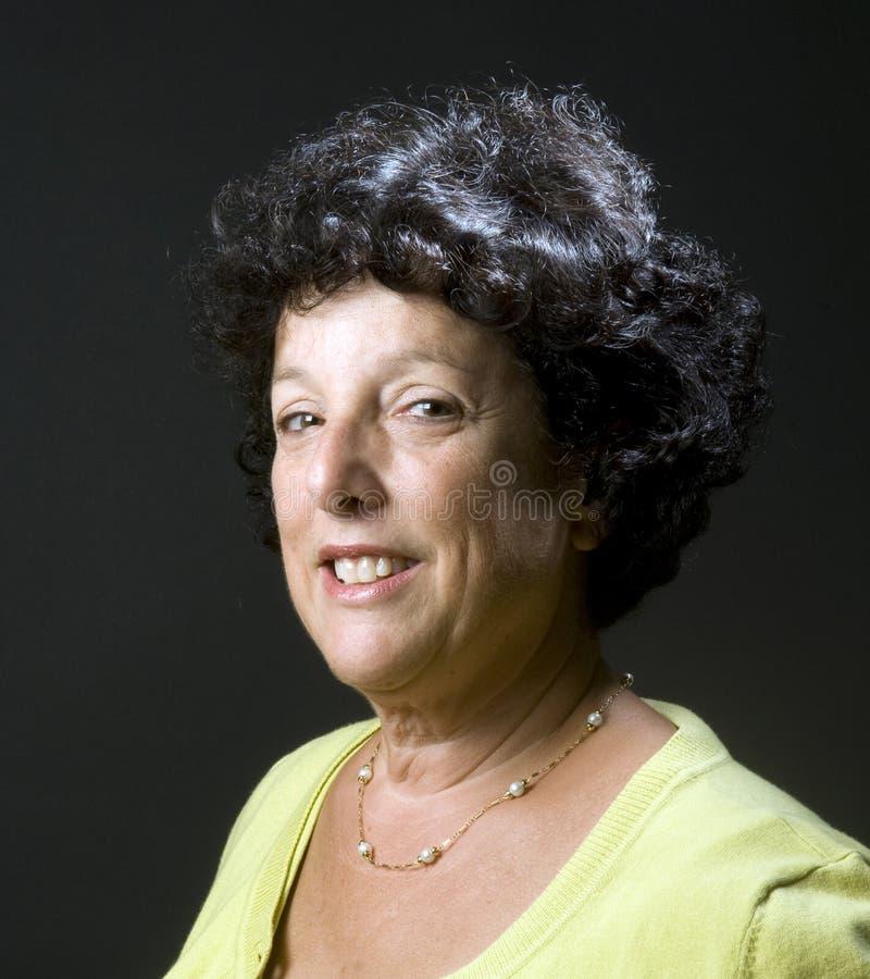 Mujer de los businees del ejecutivo 'senior' imágenes de archivo libres de regalías
