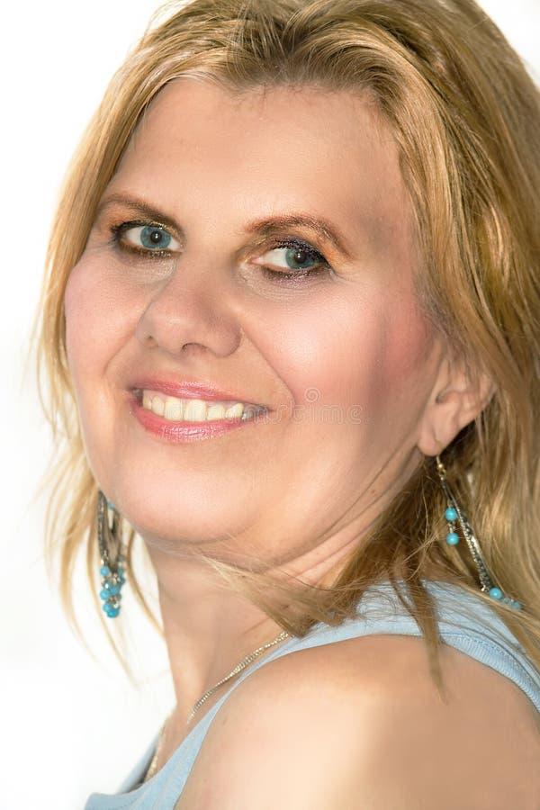 Mujer de mediana edad hermosa fotos de archivo