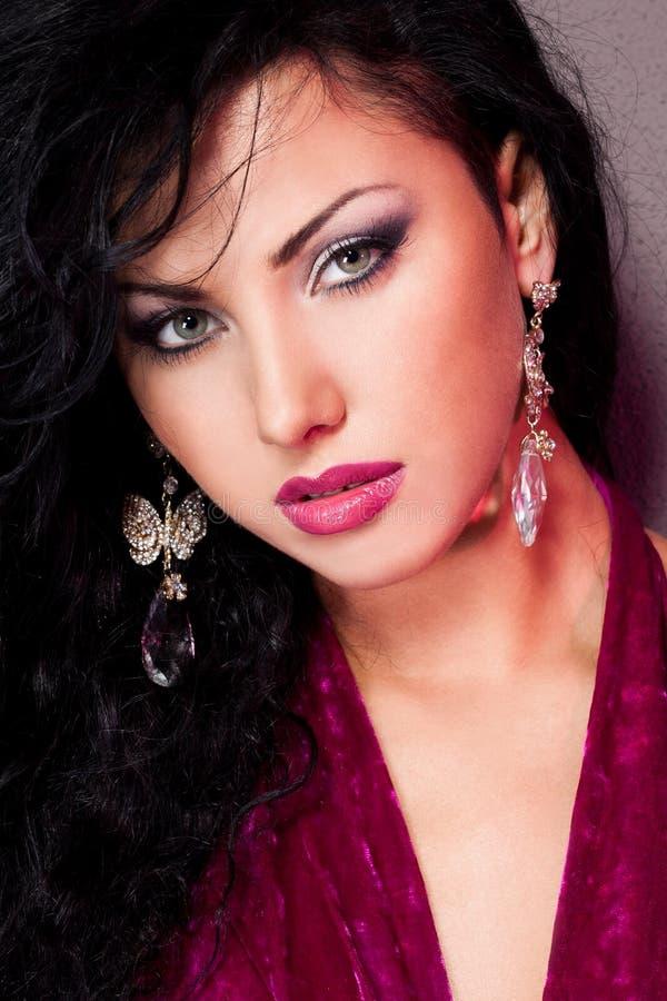 Mujer de moda elegante imagen de archivo