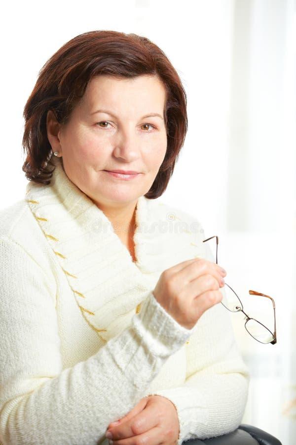 Mujer de negocios fotografía de archivo