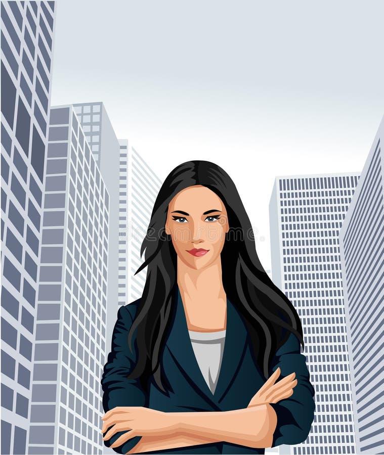 Mujer de negocios libre illustration