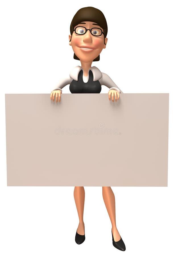 Download Mujer de negocios stock de ilustración. Ilustración de aislado - 7282705
